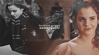 Hermione Granger ❖ Unstoppable