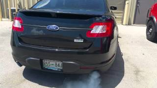 2011 Ford Taurus SHO blown turbo seals?