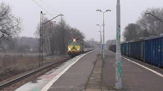 preview picture of video 'ET22-1212 vs. Żółte Czoło EP07-174 z TLK RAWA - mijanka'