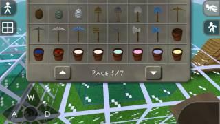 Minecraft Pocket Edition vs Survivalcraft