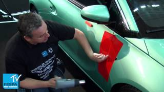 Vinyl Wrap Tips & Tricks - Car Door (works for Airplanes too!)