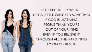 The Veronicas   On Your Side ( Lyrics)
