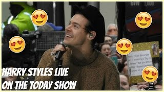 I SAW HARRY STYLES LIVE | TODAY SHOW VLOG