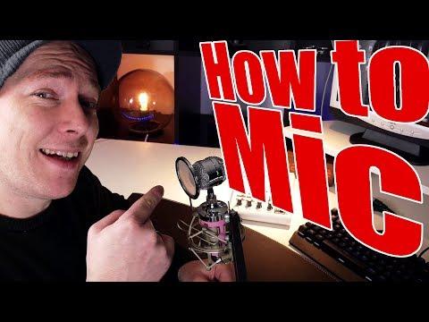 Mikrofon richtig einstellen und neues Setup!!! Letztes Video!!!