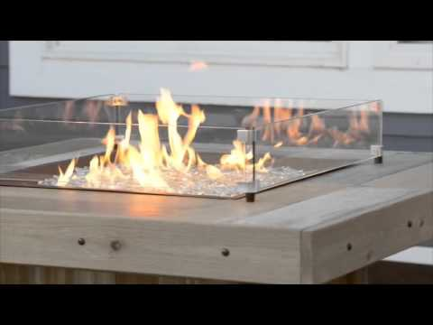 Vintage Square Fire Table - The Outdoor GreatRoom Company