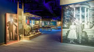 Virtual Tour - Eisenhower Presidential Library and Museum All-New Exhibits