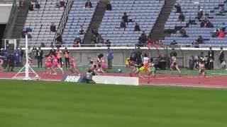 2016日本陸上選手権リレー女子4×400mリレー決勝 千葉麻美選手ラストレース