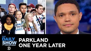 A Year After the Parkland Shooting, the Fight for Sensible Gun Control Continues | The Daily Show