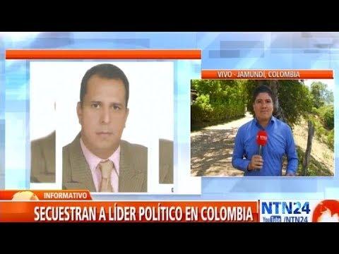 Secuestran a lider politico y social en Jamundi, Colombia
