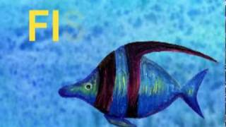 """The Alphabet Letter F - """"F"""" is for Fish"""