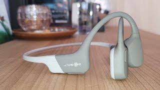 AfterShokz Aeropex Die Knochenschall Bluetooth Kopfhörer garantiert freie Ohren! im Straßenverkehr