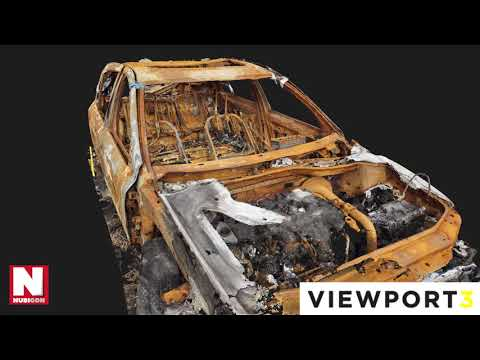 Viewport3 - Burnt Out Car