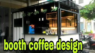 Booth Coffee Design