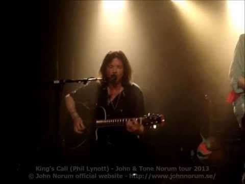 """King's Call"" (Phil Lynott) - John Norum & Tone Norum tour 2013"