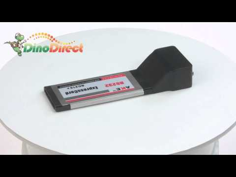 AKE Express to RS232 Card for Laptop  from Dinodirect.com