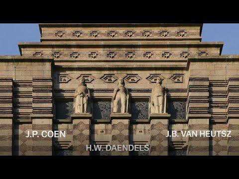 Koloniale sporen in en op gebouw De Bazel