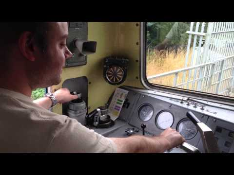 Driving a Class 73 diesel-electric loco at Tunbridge Wells W…