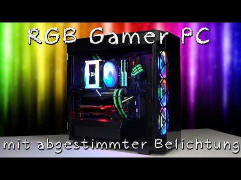 AMD Gamer PC rgb