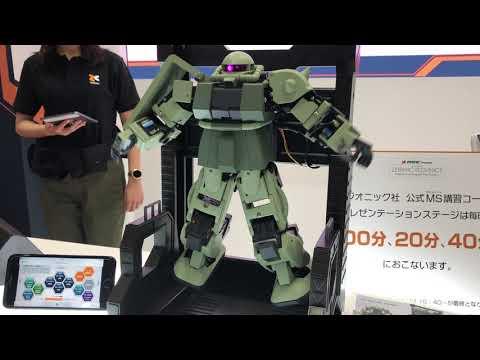 ZEONIC TECHNICS 手機遙控「薩克」 機械人展示影片@東京玩具展2019