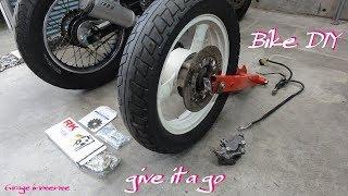 【バイクDIY】#10 CBX125Fリアディスクブレーキ化計画