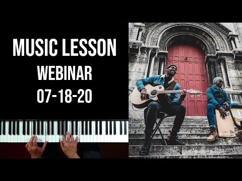 Lessons with Carlos (Webinar 07-18-20)