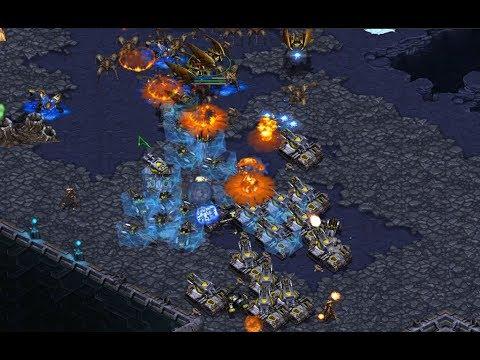 CrownRoyal (P) v leunal (T) on Othello - StarCraft  - Brood War REMASTERED