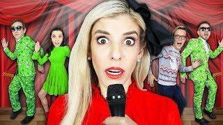 Giant REWIND Musical in REAL LIFE to TRAP Hacker! (Game Master Battle Royale)   Rebecca Zamolo