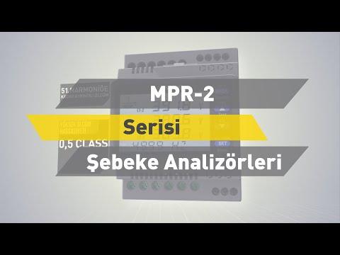 ENTES MPR-2 Serisi Şebeke Analizörleri