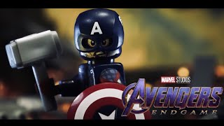 Avengers: Endgame Captain America vs Thanos in LEGO
