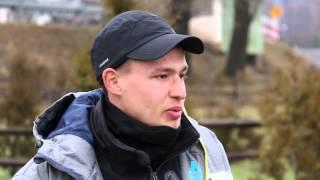 Rafał Skop pieszo przemierza Polskę
