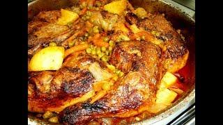 מתכון לתבשיל עוף עם אפונה