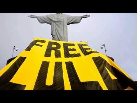 Проиграть видео - Бразилия. #LulaLivre