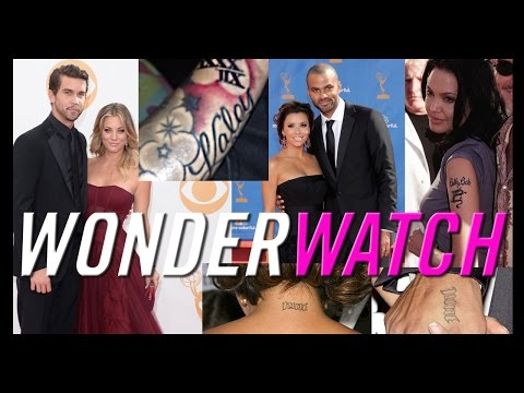 Stars Who Got Tattoos for Love -- Wonderwatch for March 24, 2014