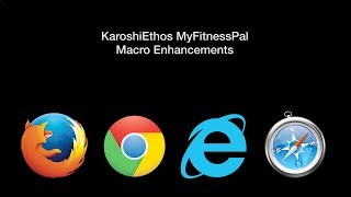 Installing the KaroshiEthos MyFitnessPal Macro Enhancement Script