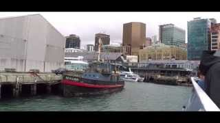 preview picture of video 'Wellington Harbour Cruise GoPro Demo'