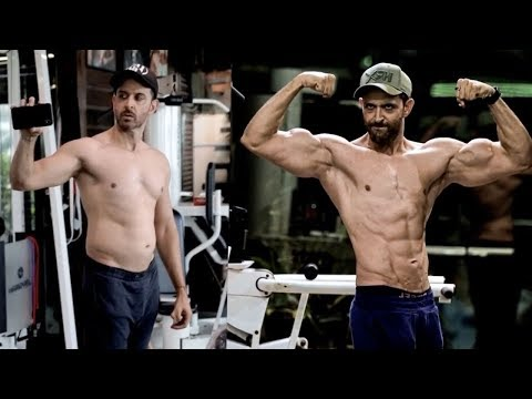 Hrithik Roshan's Amazing Fat To Fit Transformation for WAR