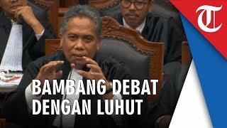 Detik-detik Bambang Widjojanto Debat dengan Luhut yang Menyebut 'Tak Hormati Senior'