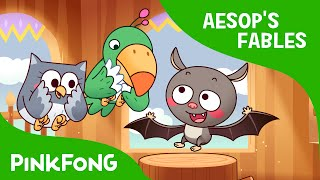 The Bat, the Beast, and the Bird | Aesop's Fables | PINKFONG Story Time for Children