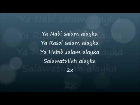Maher Zain Ya Nabi Salam Alayka Lyrics Lejla Krivosic Fl