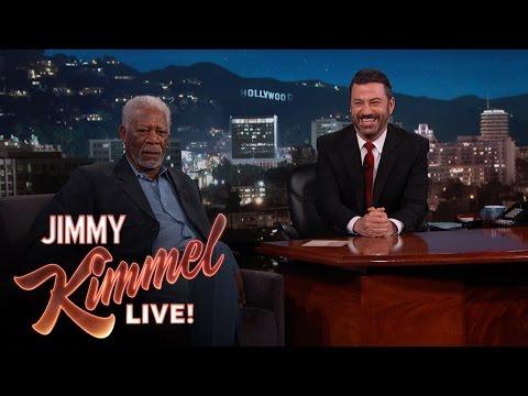 Morgan Freeman, Who Is God, Hates Selfie Sticks