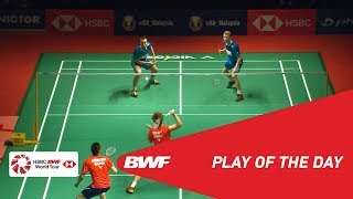Play Of The Day | PERODUA Malaysia Masters 2019 QF | BWF 2019