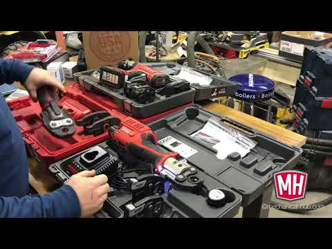 RIDGID RP241 & Milwaukee M12 Press Tool Comparison