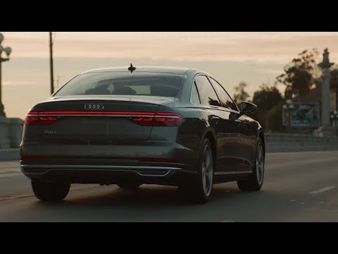 Audi  A8 Седан класса F - рекламное видео 1