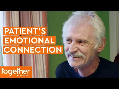 Patient's Emotional Connection with Volunteer   The Hospice