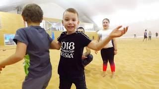 Детские тренировки с Александрой Помыкановой и Владимиром Хильченко (вторая часть)