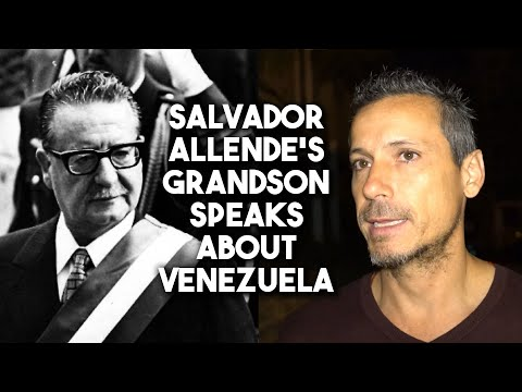 Grandson of overthrown Chilean President Salvador Allende defends Venezuela against US coup attempt