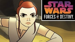 Star Wars Forces of Destiny First Look | Disney