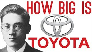 How Big is Toyota? (They've Owned 27% of Tesla Motors!)