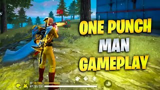 One Punch Man OP Gameplay🔥|Munna Bhai Gaming-24kGoldn - Mood ❤️ ( FreeFire Highlights ) #FUNNY