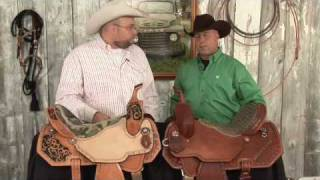 Double J Pozzi Barrel Racing Saddles